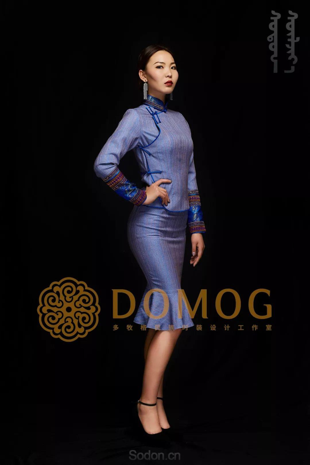DOMOG蒙古时装绝美秋冬款系列,美出新高度! 第34张