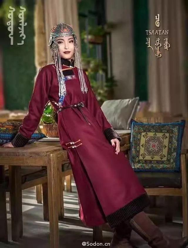 TSAATAN蒙古时装秋冬系列,来自驯鹿人的独特魅力! 第1张