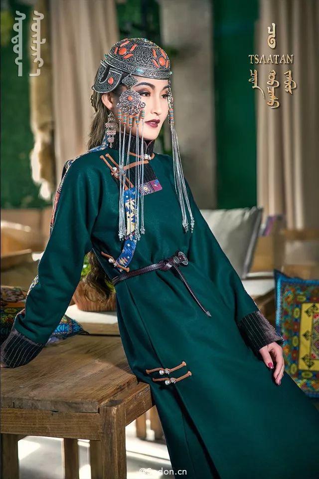 TSAATAN蒙古时装秋冬系列,来自驯鹿人的独特魅力! 第4张
