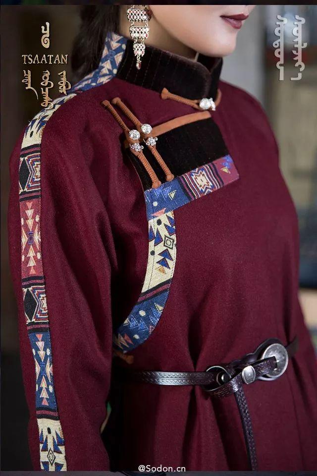 TSAATAN蒙古时装秋冬系列,来自驯鹿人的独特魅力! 第6张