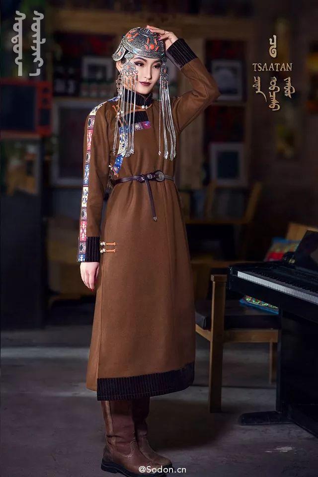 TSAATAN蒙古时装秋冬系列,来自驯鹿人的独特魅力! 第5张