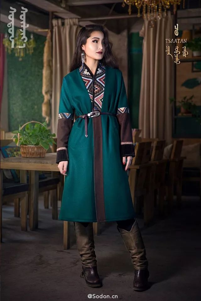 TSAATAN蒙古时装秋冬系列,来自驯鹿人的独特魅力! 第7张