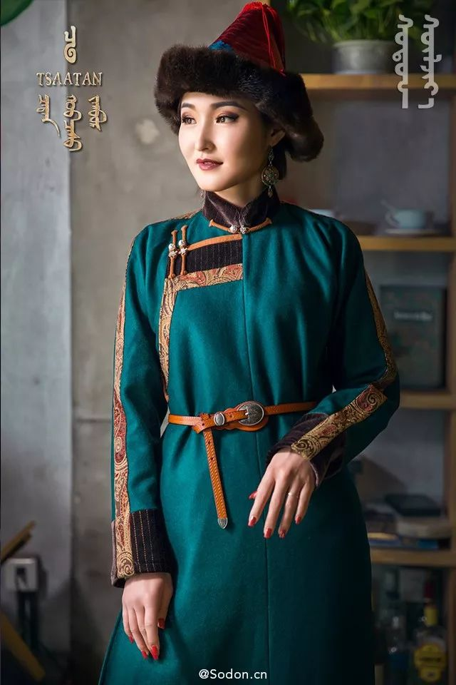 TSAATAN蒙古时装秋冬系列,来自驯鹿人的独特魅力! 第11张