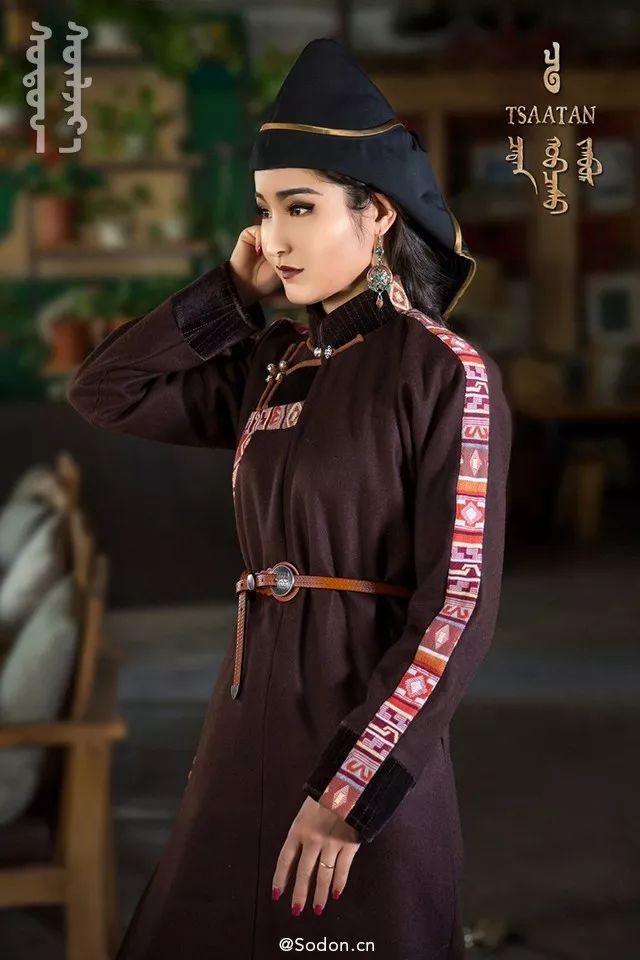 TSAATAN蒙古时装秋冬系列,来自驯鹿人的独特魅力! 第14张