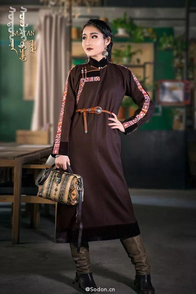 TSAATAN蒙古时装秋冬系列,来自驯鹿人的独特魅力! 第15张