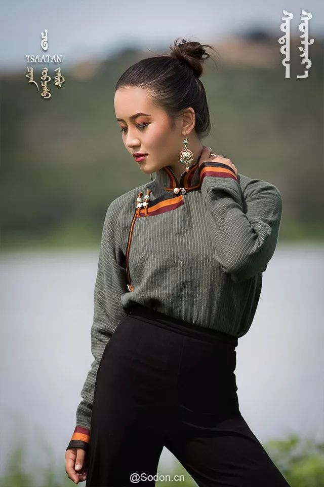 TSAATAN蒙古时装秋冬系列,来自驯鹿人的独特魅力! 第25张