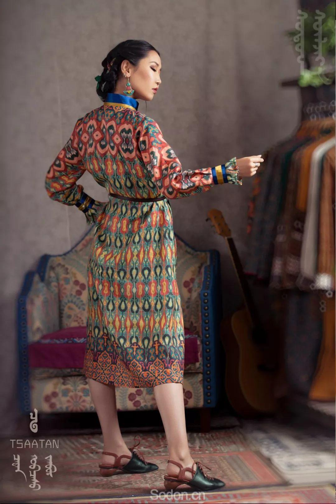TSAATAN蒙古时装秋冬系列,来自驯鹿人的独特魅力! 第31张