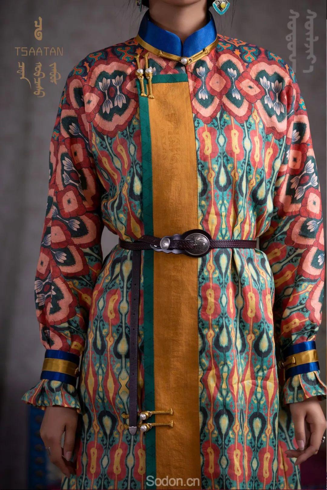 TSAATAN蒙古时装秋冬系列,来自驯鹿人的独特魅力! 第32张