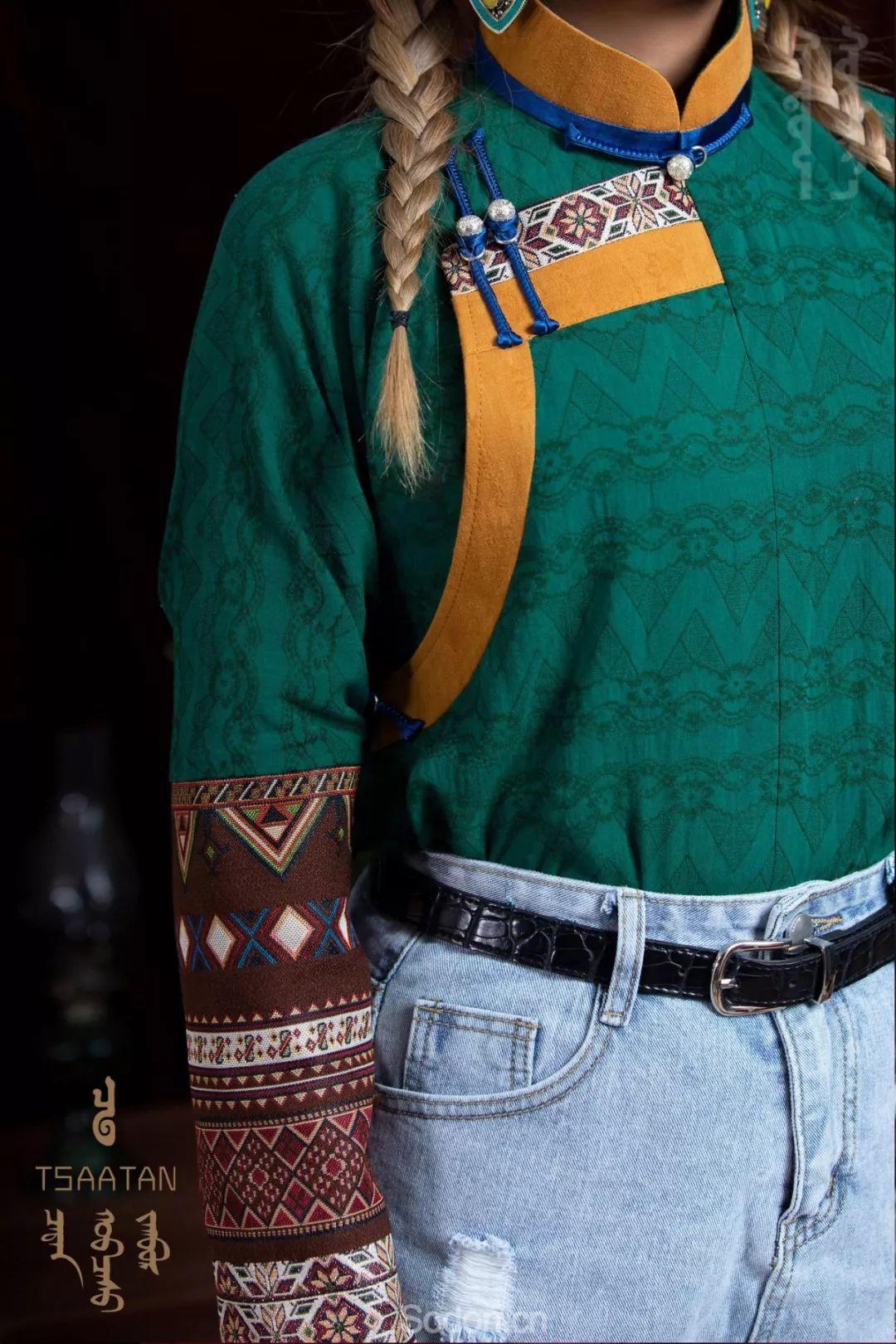 TSAATAN蒙古时装秋冬系列,来自驯鹿人的独特魅力! 第38张