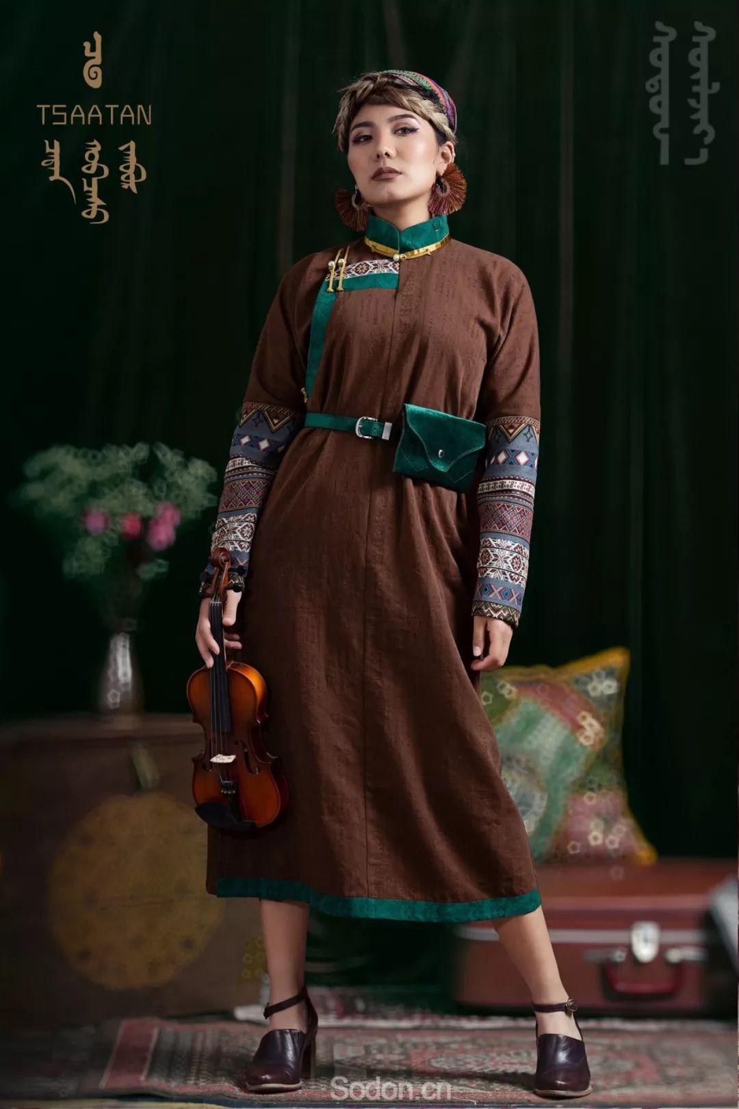 TSAATAN蒙古时装秋冬系列,来自驯鹿人的独特魅力! 第54张