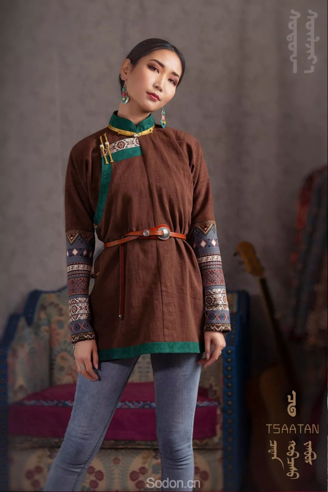 TSAATAN蒙古时装秋冬系列,来自驯鹿人的独特魅力! 第62张