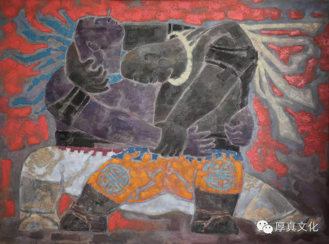 【蒙古人】画家——格日乐图 第8张 【蒙古人】画家——格日乐图 蒙古画廊