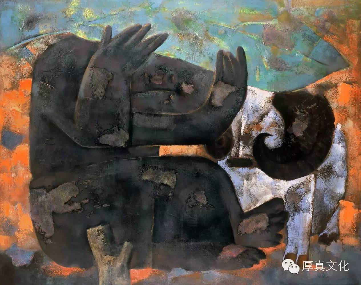 【蒙古人】画家——格日乐图 第7张 【蒙古人】画家——格日乐图 蒙古画廊