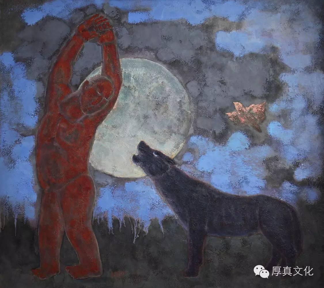 【蒙古人】画家——格日乐图 第10张 【蒙古人】画家——格日乐图 蒙古画廊