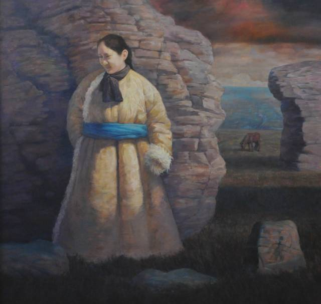 【蒙古图片】这位蒙古族画家,用油画记录蒙古的风土人情,美醉了! 第8张