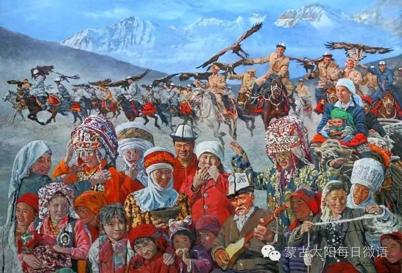 一个蒙古人眼中的欧洲  第32章 世界著名蒙古族画家费岳达尔•卡尔梅克 第14张