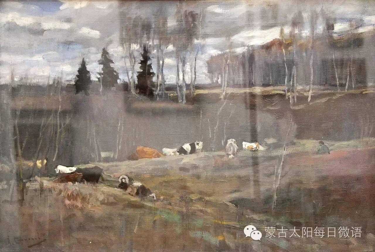 一个蒙古人眼中的欧洲  第32章 世界著名蒙古族画家费岳达尔•卡尔梅克 第30张