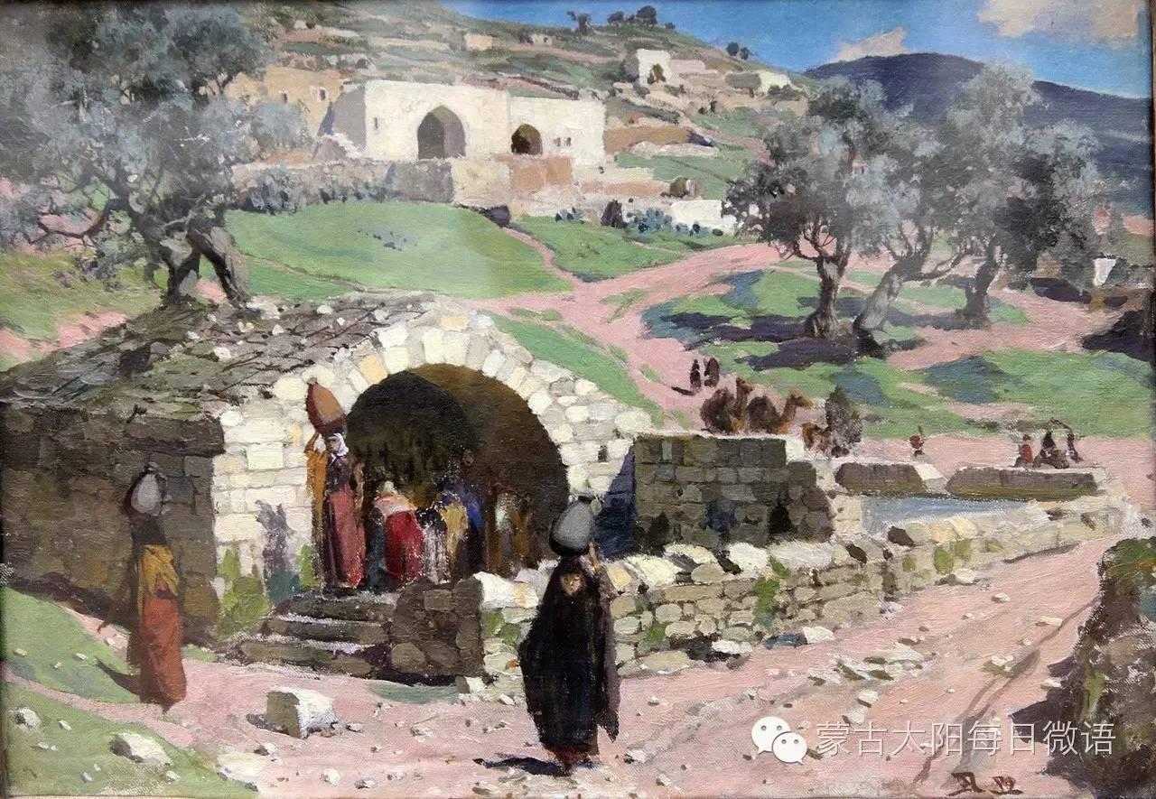 一个蒙古人眼中的欧洲  第32章 世界著名蒙古族画家费岳达尔•卡尔梅克 第33张