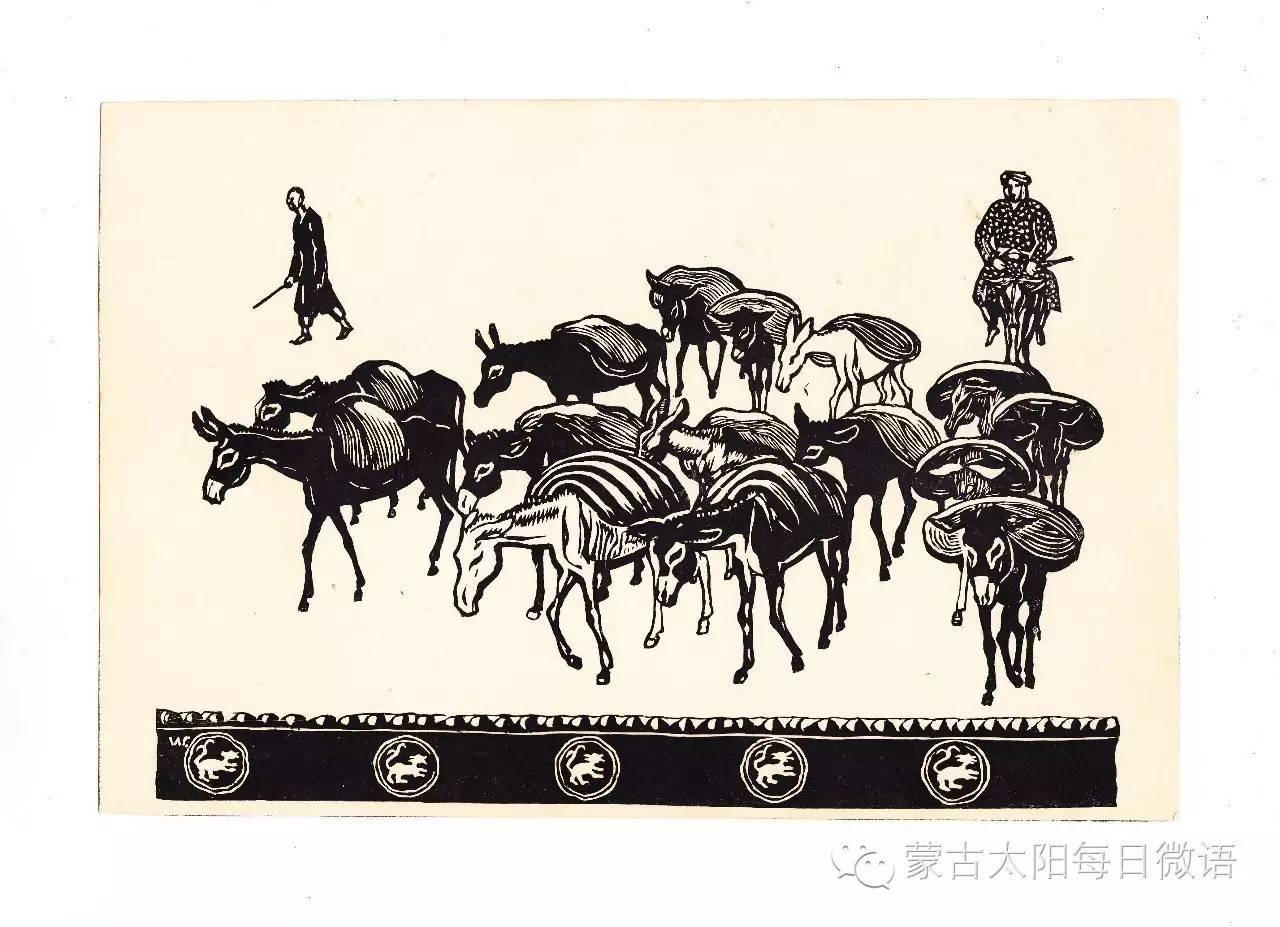 一个蒙古人眼中的欧洲  第32章 世界著名蒙古族画家费岳达尔•卡尔梅克 第35张