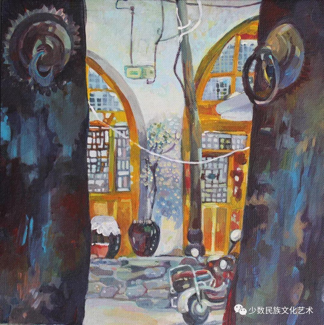 生活.礼物——蒙古族画家杨佳作品欣赏 第8张 生活.礼物——蒙古族画家杨佳作品欣赏 蒙古画廊