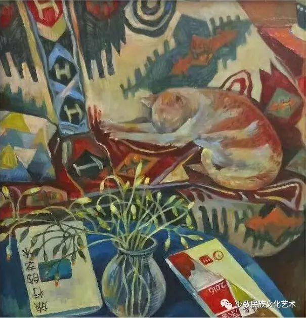 生活.礼物——蒙古族画家杨佳作品欣赏 第21张 生活.礼物——蒙古族画家杨佳作品欣赏 蒙古画廊