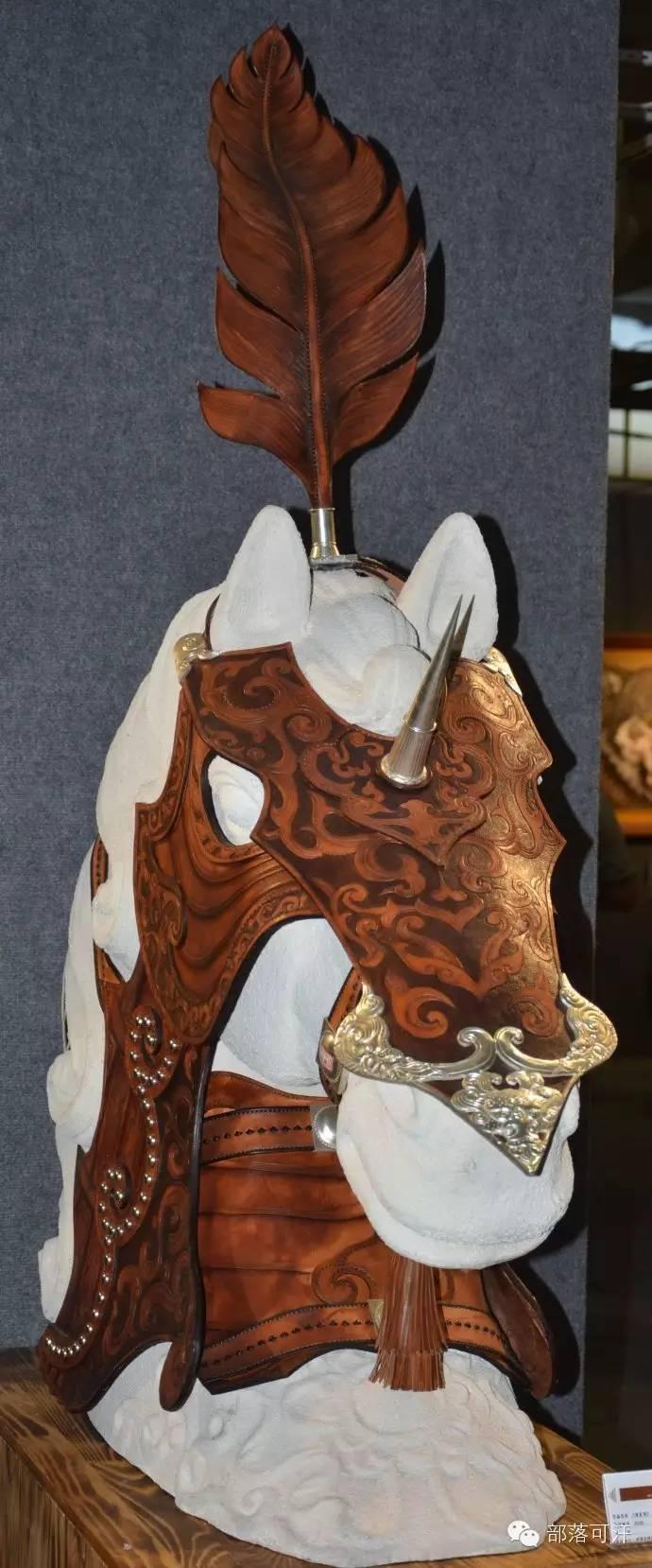 蒙古族皮画皮雕艺术欣赏 第3张
