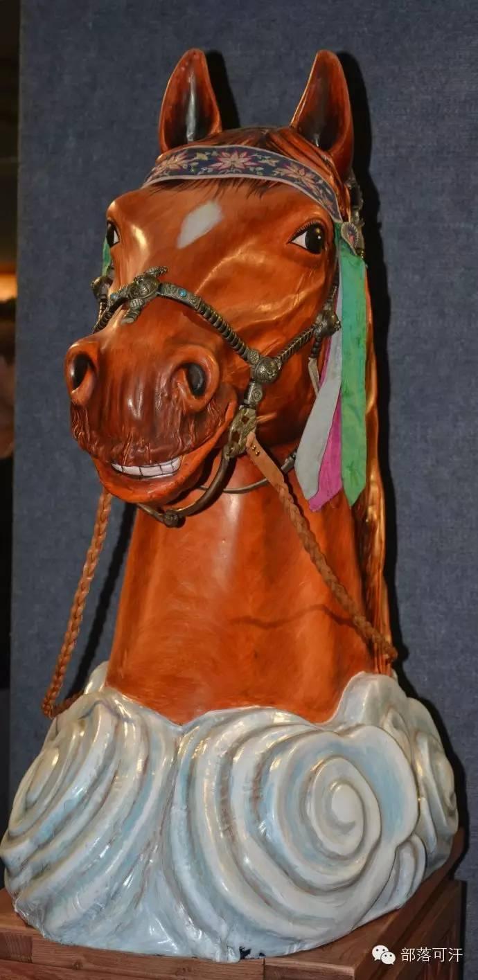 蒙古族皮画皮雕艺术欣赏 第2张