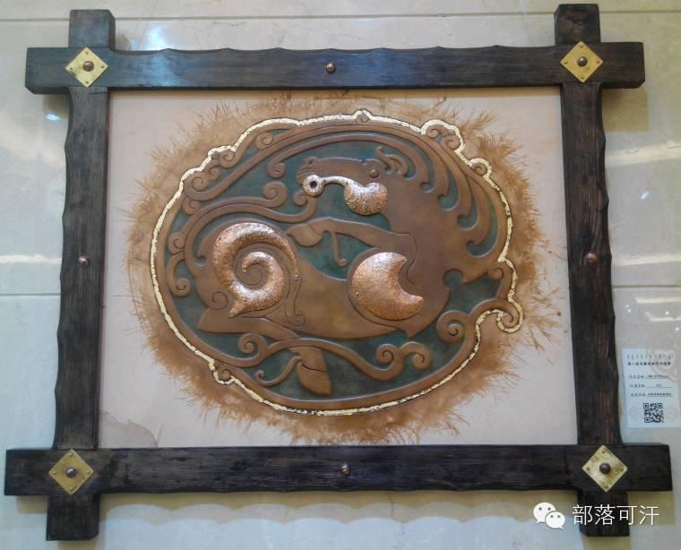 蒙古族皮画皮雕艺术欣赏 第12张