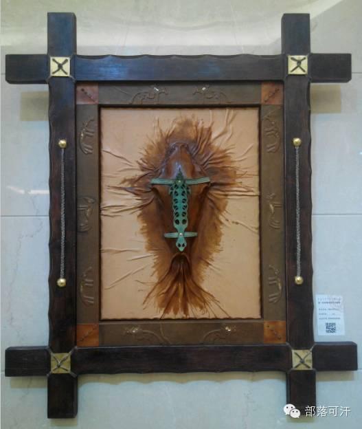 蒙古族皮画皮雕艺术欣赏 第10张