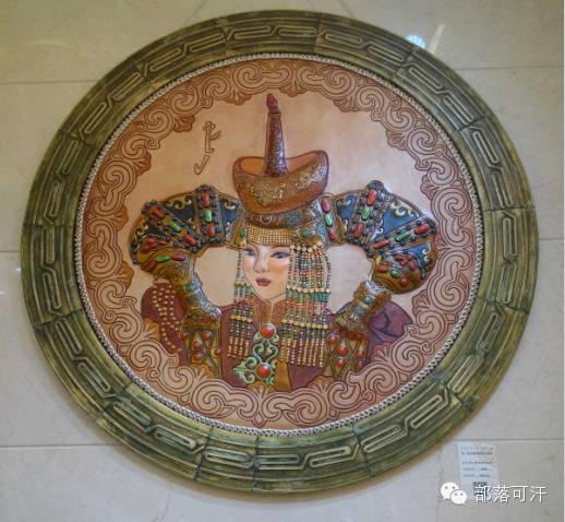 蒙古族皮画皮雕艺术欣赏 第19张