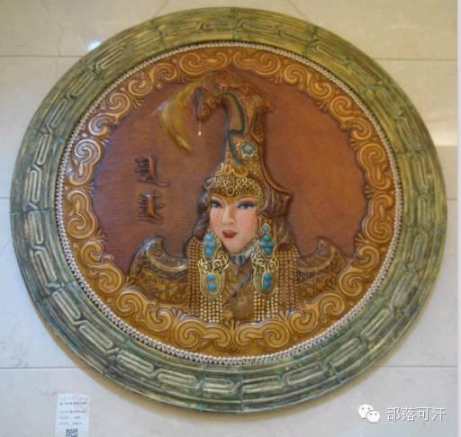 蒙古族皮画皮雕艺术欣赏 第20张