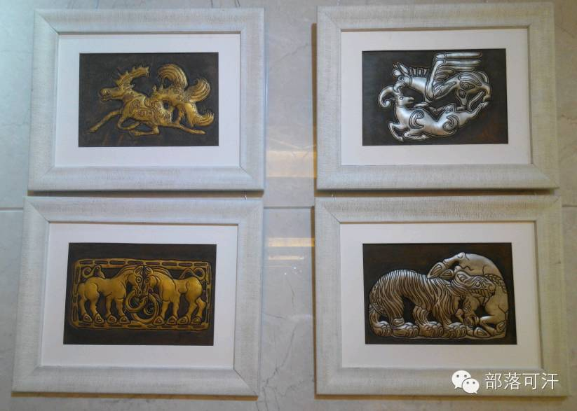 蒙古族皮画皮雕艺术欣赏 第35张
