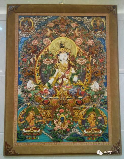 蒙古族皮画皮雕艺术欣赏 第40张
