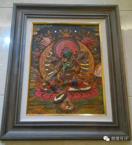 蒙古族皮画皮雕艺术欣赏 第43张