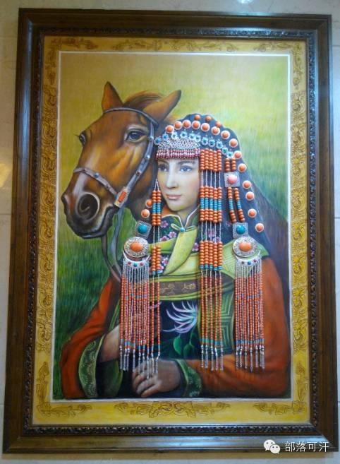 蒙古族皮画皮雕艺术欣赏 第49张
