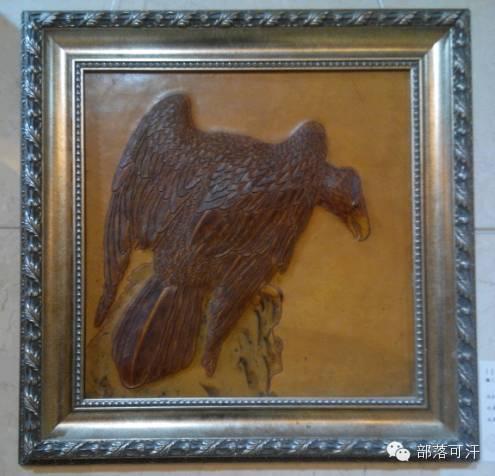 蒙古族皮画皮雕艺术欣赏 第50张