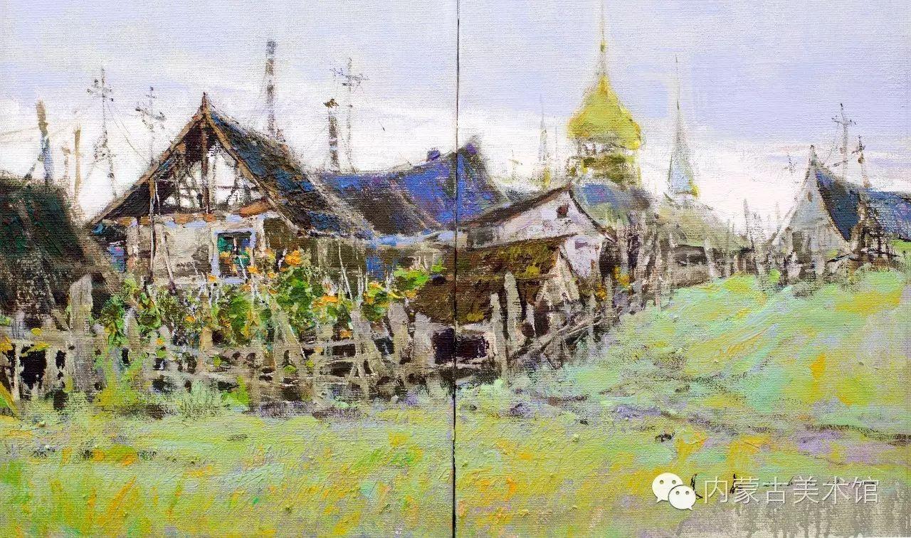2016内蒙古草原油画院第二届写生油画展 第4张 2016内蒙古草原油画院第二届写生油画展 蒙古画廊
