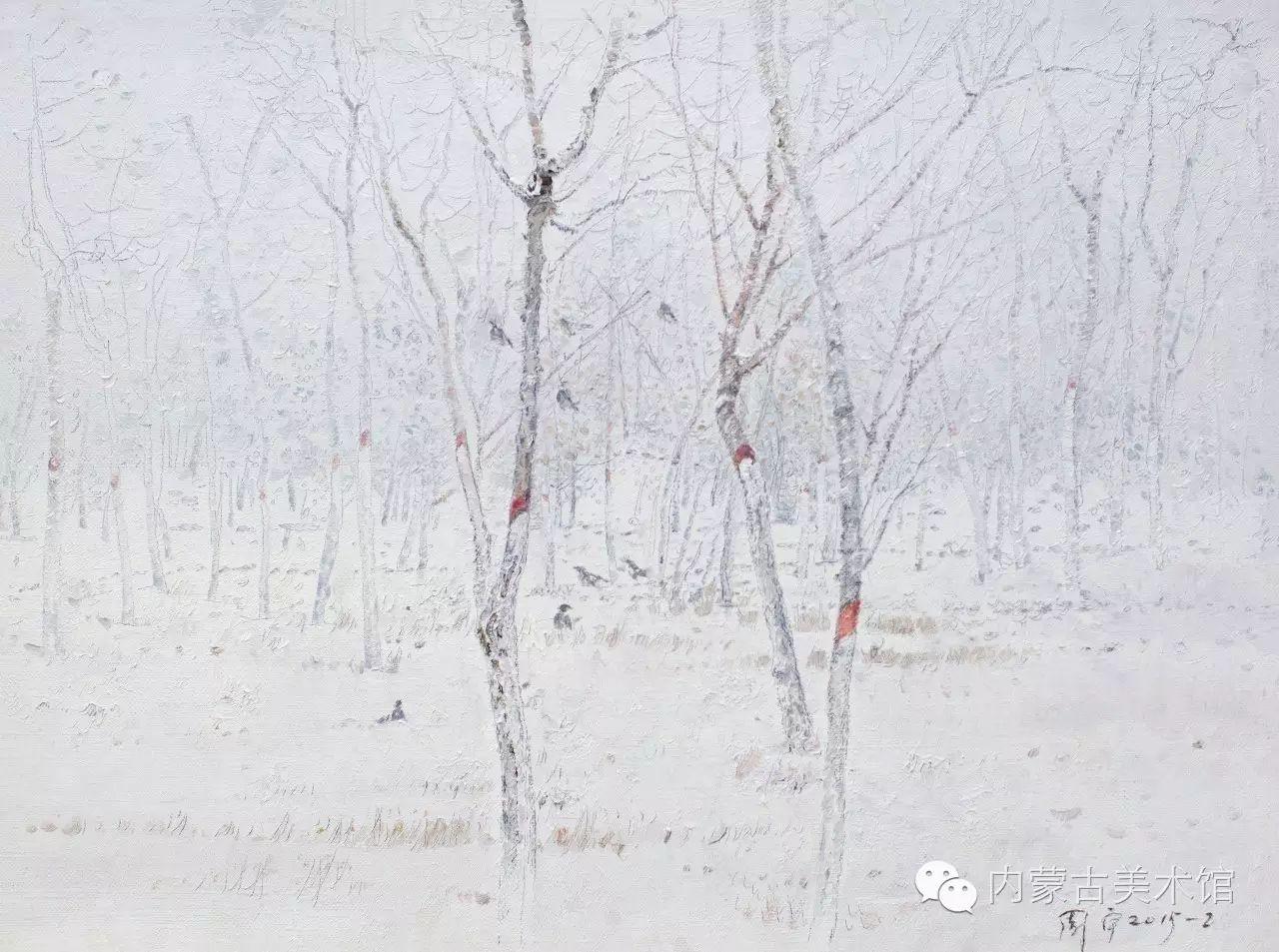2016内蒙古草原油画院第二届写生油画展 第5张 2016内蒙古草原油画院第二届写生油画展 蒙古画廊