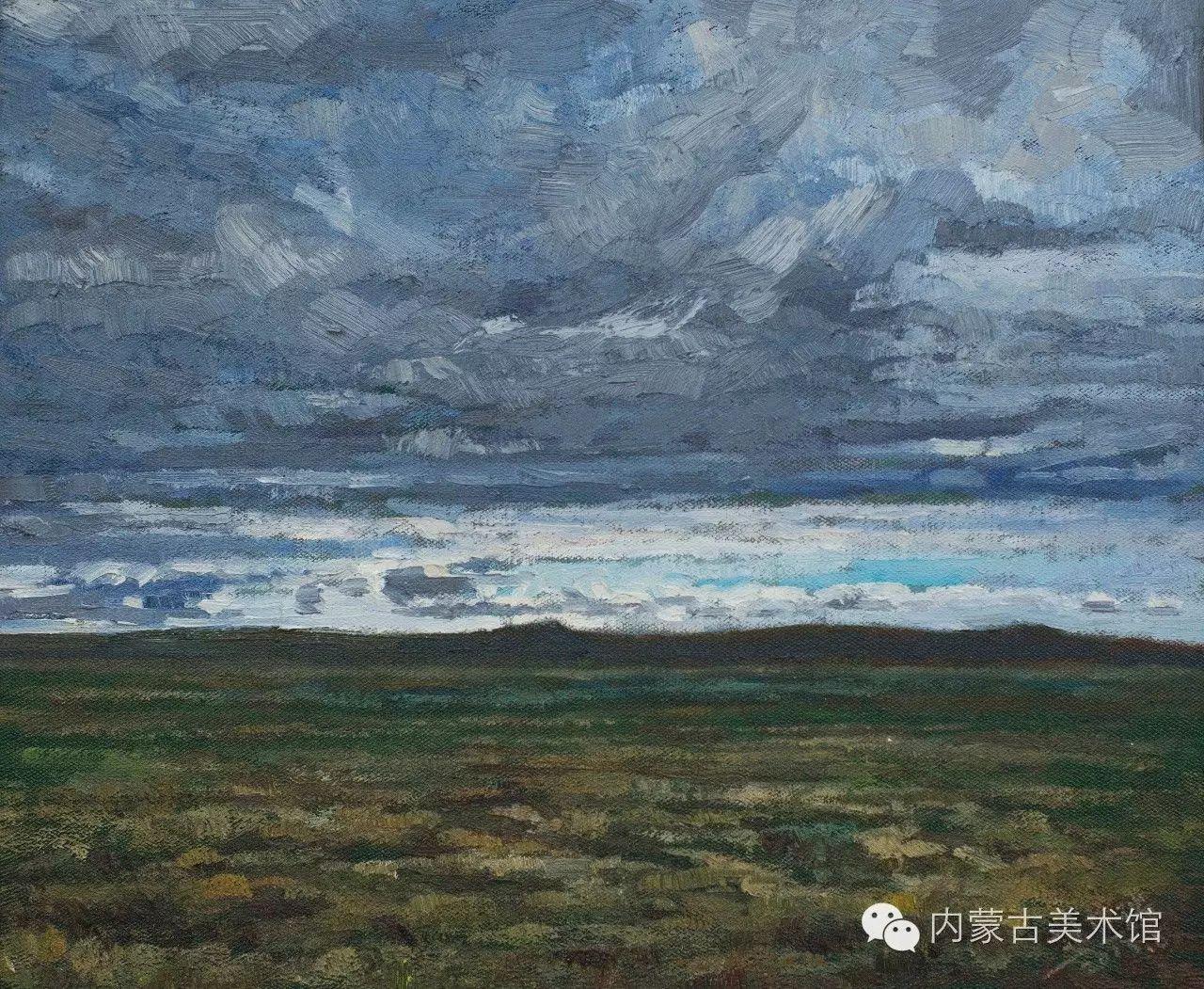 2016内蒙古草原油画院第二届写生油画展 第15张 2016内蒙古草原油画院第二届写生油画展 蒙古画廊