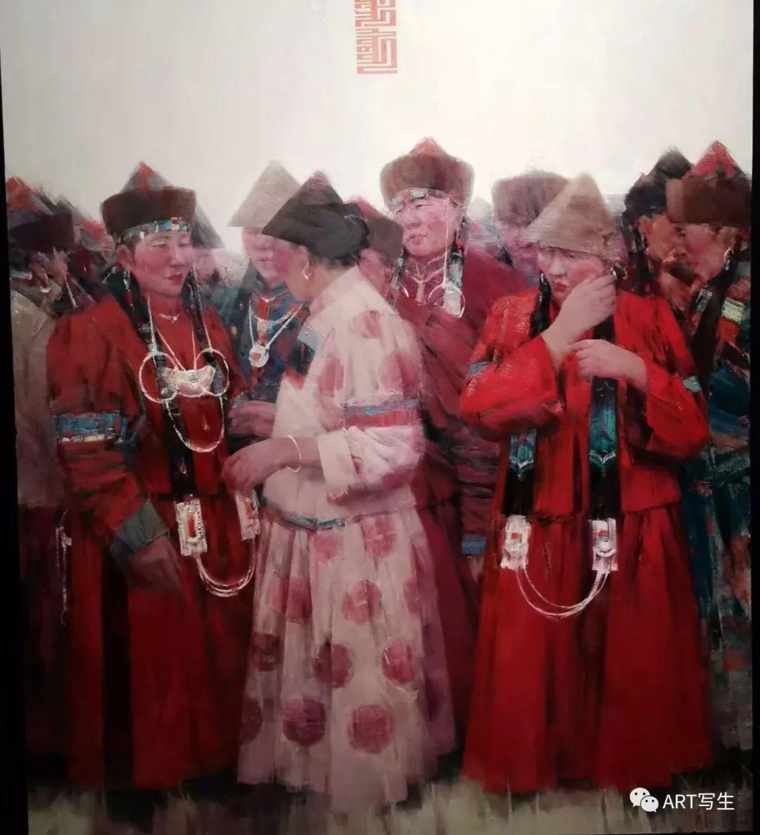 第十三届内蒙古自治区美术作品展览(油画作品) 第1张