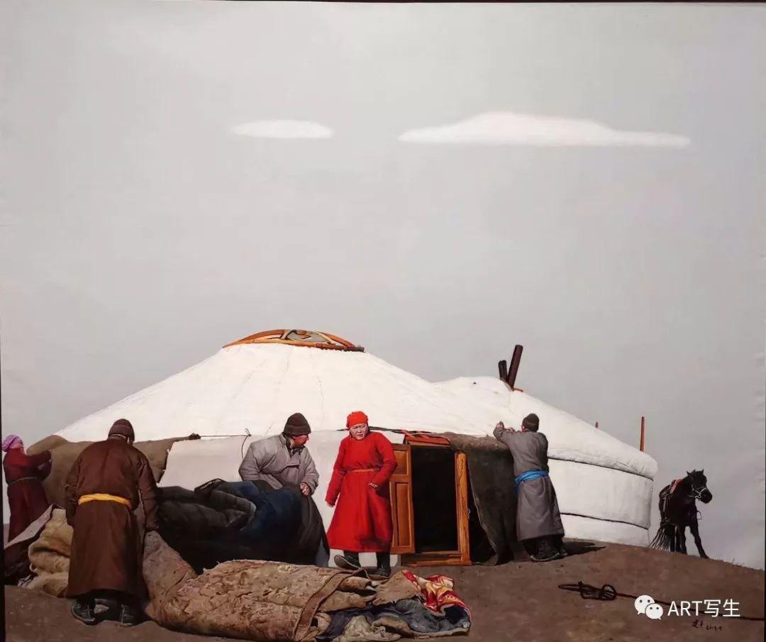 第十三届内蒙古自治区美术作品展览(油画作品) 第8张