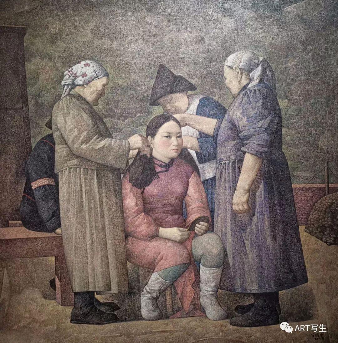 第十三届内蒙古自治区美术作品展览(油画作品) 第10张