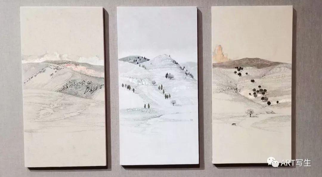 第十三届内蒙古自治区美术作品展览(油画作品) 第9张