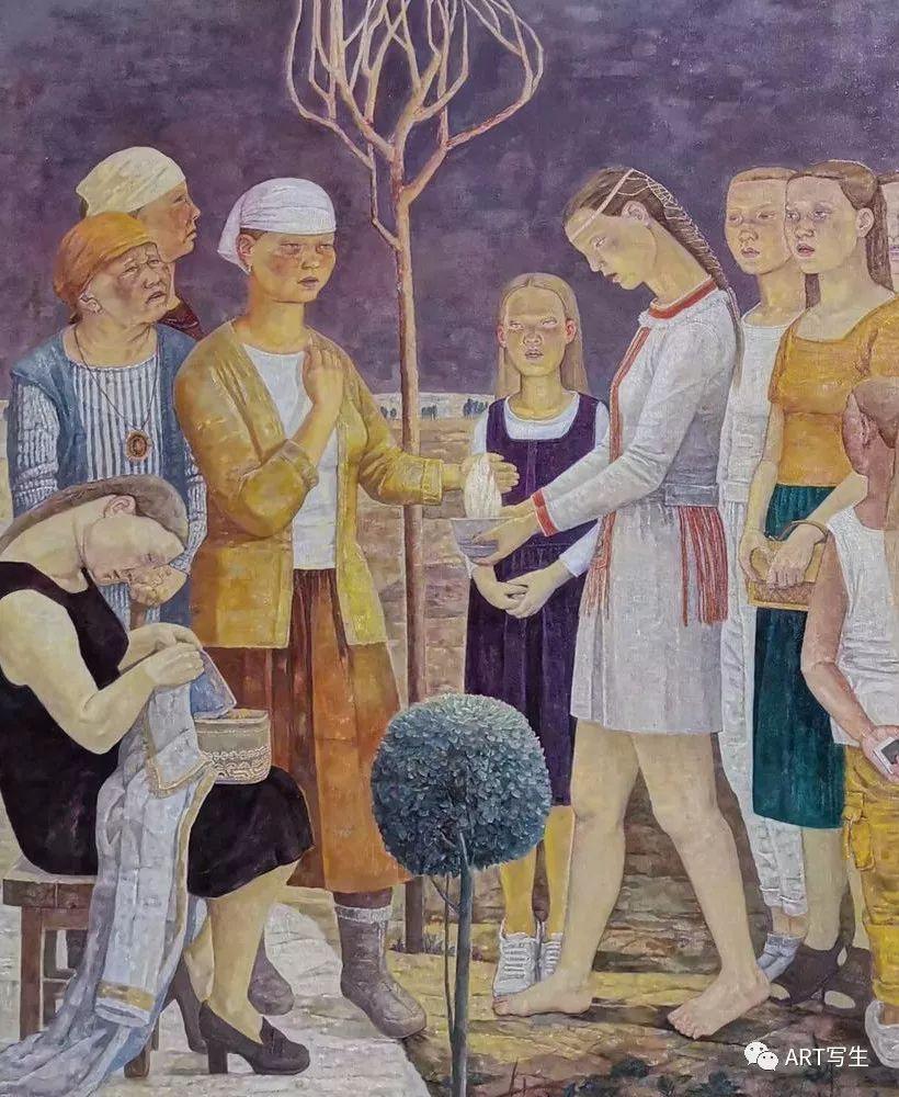 第十三届内蒙古自治区美术作品展览(油画作品) 第13张