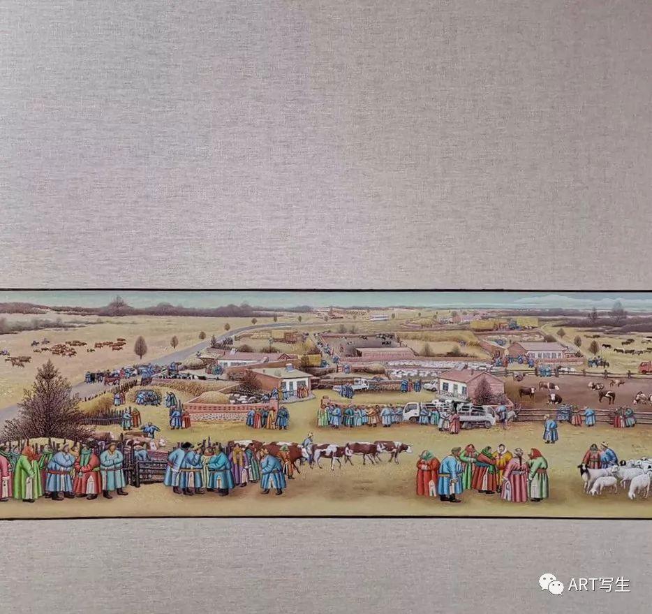第十三届内蒙古自治区美术作品展览(油画作品) 第12张
