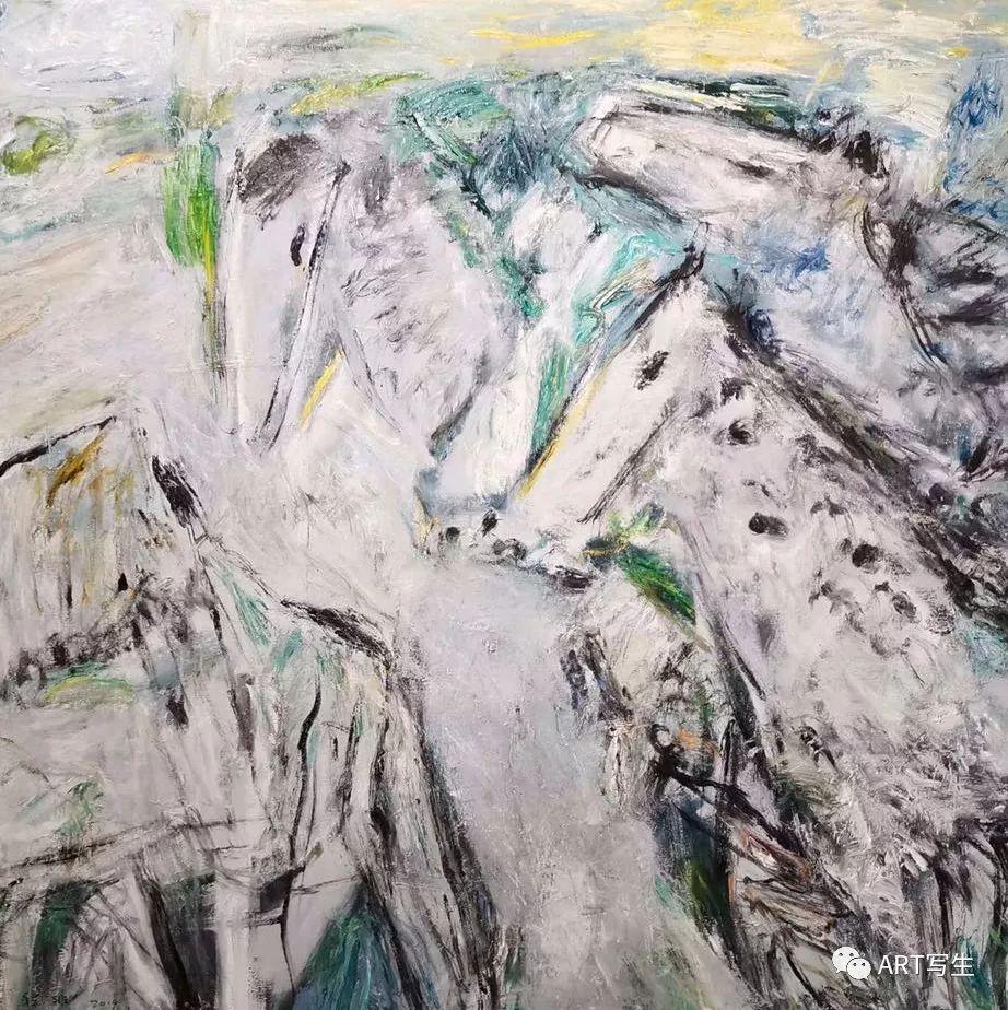 第十三届内蒙古自治区美术作品展览(油画作品) 第18张