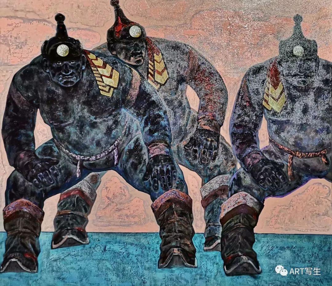 第十三届内蒙古自治区美术作品展览(油画作品) 第23张