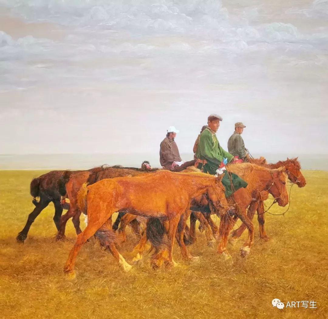 第十三届内蒙古自治区美术作品展览(油画作品) 第24张