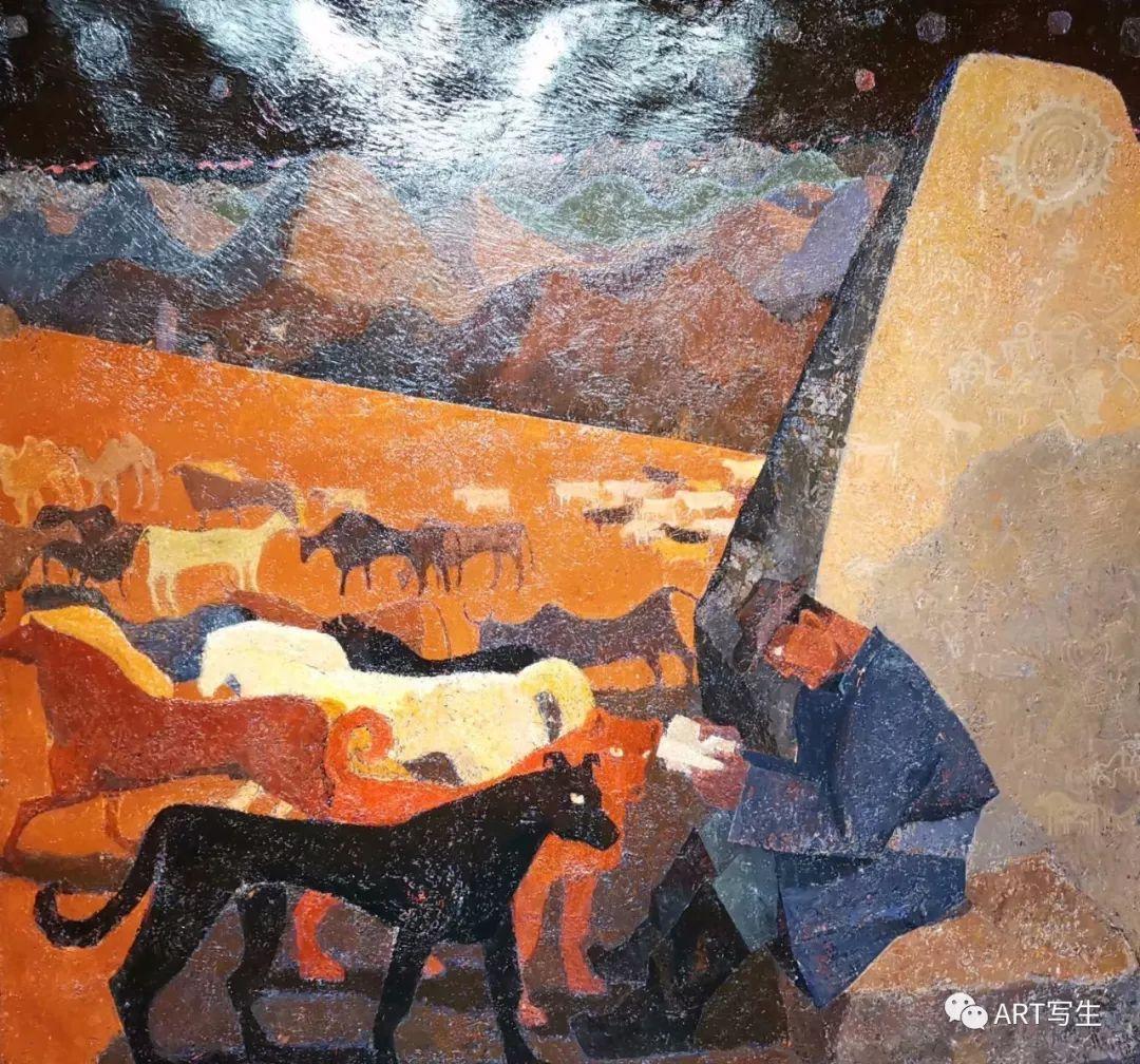 第十三届内蒙古自治区美术作品展览(油画作品) 第25张