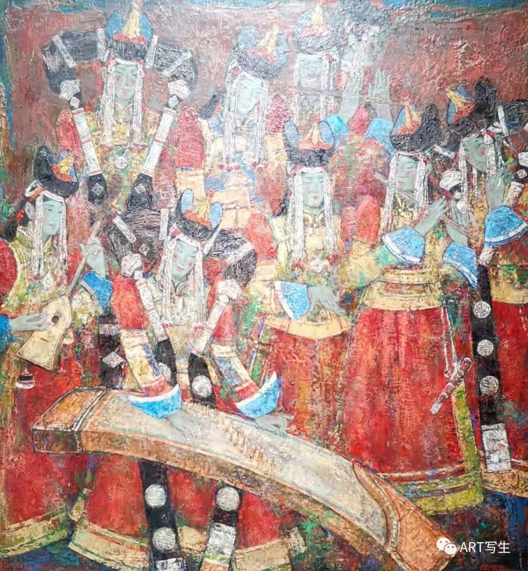 第十三届内蒙古自治区美术作品展览(油画作品) 第30张